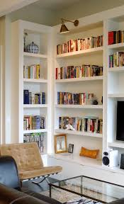 Bookcase Lamps Custom Bookcases Ny Built In Bookshelves Fine Cabinetry