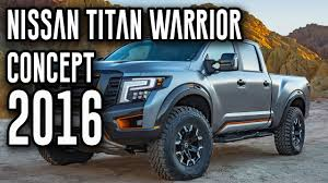 nissan titan diesel engine 2016 allnew nissan titan warrior concept 5 0l v8 turbo diesel