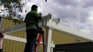 Home Depot Pergola by Home Depot Video Pergola Installation Instructions Youtube