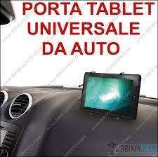 porta tablet auto porta tablet universale cruscotto supporto snodato ventosa base