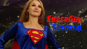 supergirl halloween costumes supergirl halloween tutorial youtube