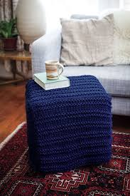 Crochet Ottoman Pattern Judd Cube Knitting Patterns And Crochet Patterns From Knitpicks