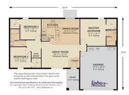 great room floor plans floor plan nadeau stout custom homes ocala fl