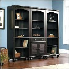 Wall Bookcase With Doors Gorgeous Room Bookcase Door Together With Wood Kit Also