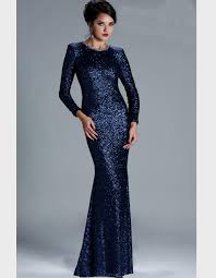dark blue long sleeve prom dresses naf dresses