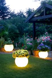 patio cover lights luxury garden ideas with bowl flower vase style yard solar lights