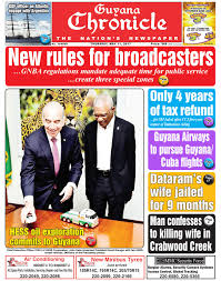 guyana chronicle e paper 11 05 2017 by guyana chronicle e paper