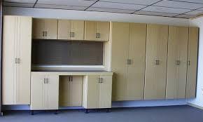 wall mounted garage cabinets elegant garage with appealing garage storage system light brown