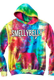 Sbtv Pullover Hoodie Tie Dye Outerwear Smellybellytv Outerwear