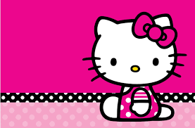 wallpaper hello kitty violet hello kitty pink and black love wallpaper desktop background yodobi