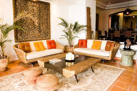 orange ceramic floor tile for traditional living room design with