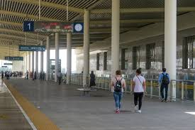 Dingzhou East railway station