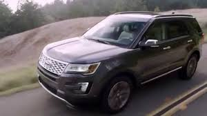 Ford Explorer Platinum - 2016 ford explorer platinum interior exterior and driving test