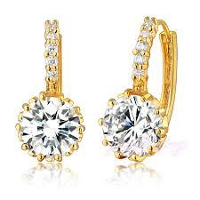 gold earring design with price trendy gold earring single simple stud earring korea design