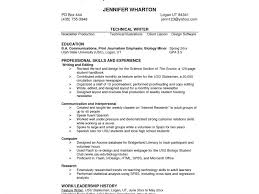 Sample Call Center Agent Resume by Biology Student Resume Examples Contegri Com