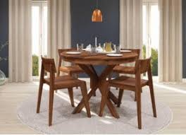 4 Seater Dining Table And Chairs 4 Seater Dining Table Set Solid Wood Furniture