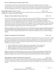 Sample Resume For Solution Architect by Resume Results Ivy Exec