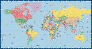 Wold Map World Map Us Time Zone Miller Map Creative Force