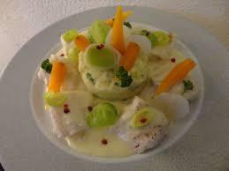 cuisiner le sandre recette de cuisine blanquette de sandre aux petits légumes pommes