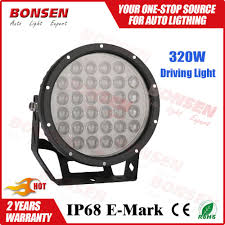 round led driving lights factory direct high power led rally led driving light bar motorcycle