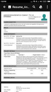 download resume pdf maker cv builder apk on pc download