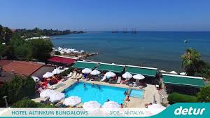 hotel altinkum bungalows all inclusive hotel holiday in side
