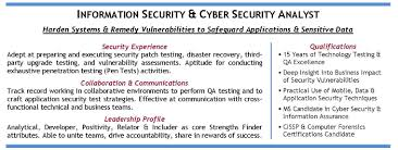 application security resume resume for your job application