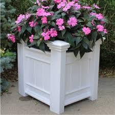 vinyl garden arbors pergolas planter boxes trellises lamp