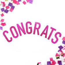 congratulations engagement banner congratulations glitter banner congrats sparkle banner