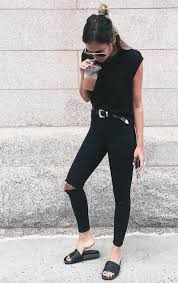 all black casual 238 best all black images on casual clothes