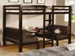 lit mezzanine canapé le lit mezzanine avec bureau est l ameublement créatif pour les