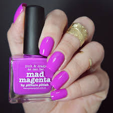 picture polish mad magenta u0026 unicorn glitterfingersss in english