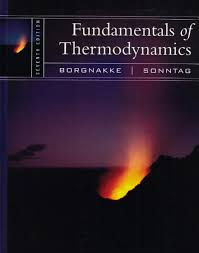 fundamentals of thermodynamics claus borgnakke richard e