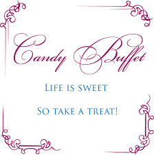 Baby Shower Candy Buffet Sign by Life Is Sweet Candy Buffet Sign Bellus Designs