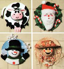 straw hat craft pattern by simplicity straw scarecrow winter