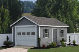 contemporary backyard outdoor with prefab tiny house garage kit