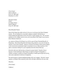 Business Collaboration Proposal Letter Sample by Tips For Writing A Letter In Business Format Free U0026 Premium
