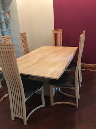 Style Dining Chairs Charles Rennie Mackintosh Style Dining Chairs In Cumbernauld