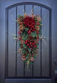 wreath winter wreath decor vertical