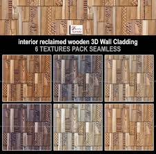 Interior Textures sketchup texture new textures 3d wall cladding interior reclaimed
