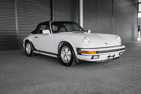 porsche 911 convertible white 1988 porsche 911 carrera cabriolet for sale in colorado springs