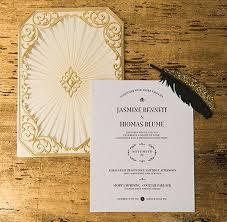great gatsby wedding invitations deco great gatsby wedding inspiration laser cut invitation