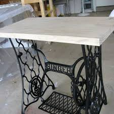Singer Sewing Machine Desk Singer Sewing Machine Cabinet Makeover To Hall Table Hometalk