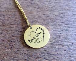 mothers necklace necklace i you gold necklace is a gift for for