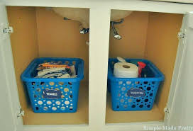 bathroom sink organizer ideas 15 ways to organize under the bathroom sink