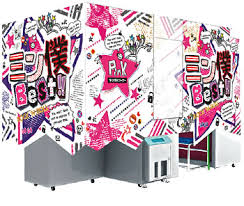 Photo Booth Machine Photo Booth Japan Purikura Photo Booth Arcade