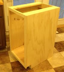 Kitchen Trash Cabinet Ana White Kitchen Trash Pull Out Cabinet Diy Projects