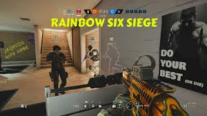 rainbow six siege do your best or die w sniper sack boy and