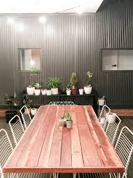 progress report gina u0027s outdoor dining space style curator