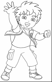 surprising diego coloring pages printable color pages